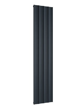 Reina Luca Vertical Double Panel Anthracite Radiator 470 x 1800mm