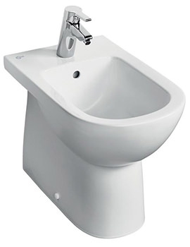 Ideal Standard Tempo Back-To-Wall Floor Standing Bidet 530mm