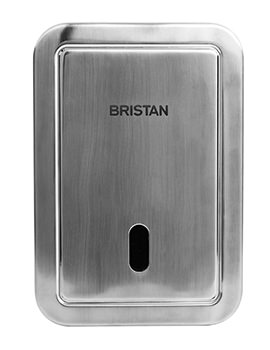 Bristan Infra-red Automatic Exposed Urinal Flush - Battery Powered
