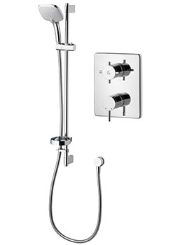 Ideal Standard TT Oposta Thermostatic Built-In Shower And Idealrain Cube Kit