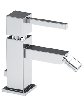 Abode Zeal Single Lever Bidet Mixer Tap With Pop Up Waste Chrome