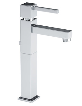 Abode Zeal Tall Basin Mixer Tap With Pop Up Waste Chrome