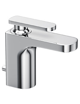 Abode Rapture Monobloc Basin Mixer Tap With Pop Up Waste Chrome