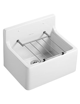 Armitage Shanks Birch 510mm Cleaners Sink With Grating
