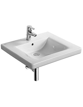 Ideal Standard Concept Freedom 1 Tap Hole 600mm Accessible Washbasin