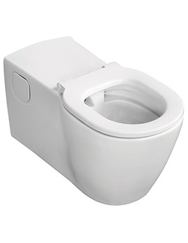 Ideal Standard Concept Freedom Wall Hung Elongated Rimless WC Pan 760mm