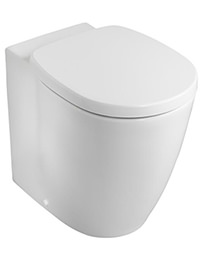 Ideal Standard Concept Freedom Raised Height Back-To-Wall WC Pan 555mm