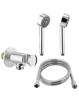 Crosswater Solo Shower Package 3 - Chrome