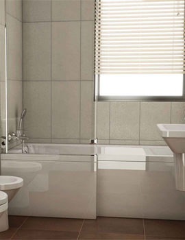 VitrA Neon Shower Bath Front Panel 1700mm