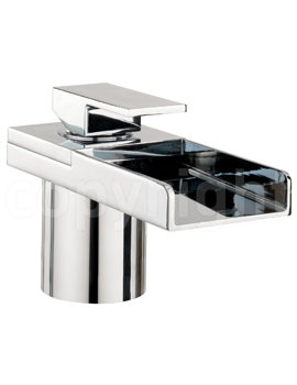 Crosswater Water Square Monobloc Bath Filler Tap With Lights