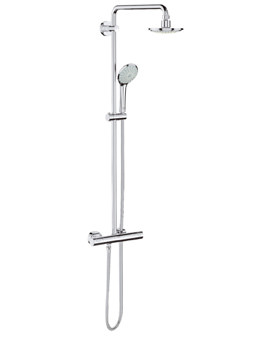 Grohe Rainshower Euphoria 180 Thermostatic Wall Mounted Shower System