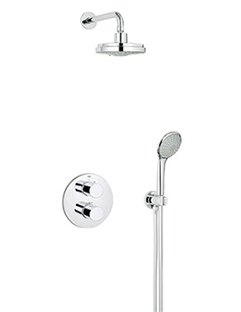Grohe Grohtherm 3000 Cosmopolitan Perfect Shower Set -  Chrome