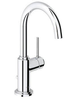 Grohe Spa Atrio Swivel Spout Basin Mixer Tap Chrome