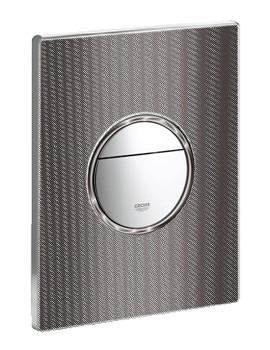 Grohe Nova Cosmopolitan WC Wall Plate Black Graphics