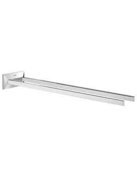 Grohe Spa Allure Brilliant Towel Bar - Two Arms
