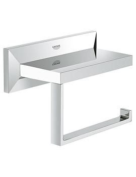 Grohe Spa Allure Brilliant Toilet Roll Holder Chrome