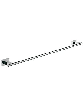 Grohe Essentials Cube 600mm Towel Rail Chrome