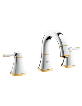 Grohe Spa Grandera 3 Hole Basin Mixer With Low Spout