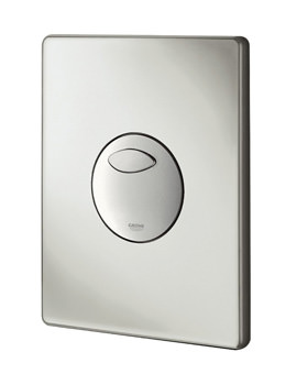 Grohe Skate WC Wall Plate Matt Chrome