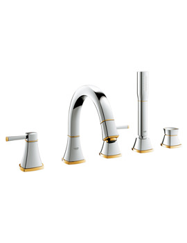 Grohe Spa Grandera 5 Hole Bath Shower Combination