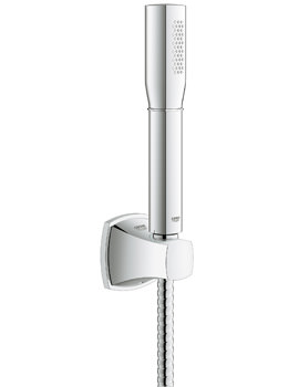 Grohe Spa Grandera Stick Wall Holder Set With 1 Spray Hand Shower