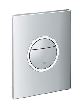 Grohe Nova Cosmopolitan Chrome WC Wall Plate With LED Light