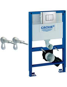 Grohe Rapid SL Skate Cosmopolitan 0.82m Wall Hung WC Frame 3 In 1 Pack