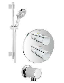 Grohe Grohtherm 2000 Power And Soul Shower Solution Pack 1