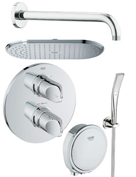 Grohe Spa Veris Bath And Shower Shower Solution Pack 6
