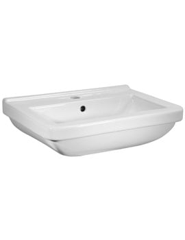 Tavistock Ion 560 x 410mm 1 Tap Hole Ceramic Basin
