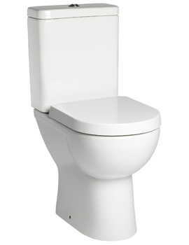 Tavistock Ion Comfort 475mm Height Close Coupled WC Set