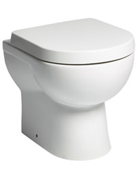 Tavistock Ion Back To Wall 510mm WC Pan And Soft Close Toilet Seat