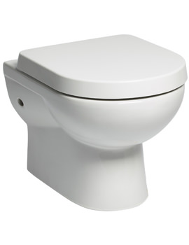 Tavistock Ion Wall Hung 515mm WC Pan And Soft Close Toilet Seat