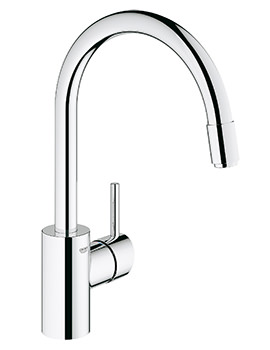 Grohe Concetto Chrome Single Lever Monobloc Sink Mixer Tap
