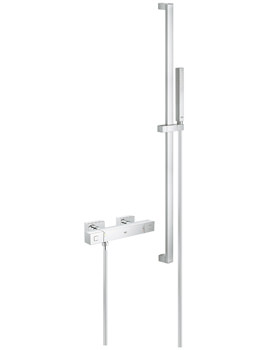 Grohe Grohtherm Cube Exposed Thermostatic Shower Set