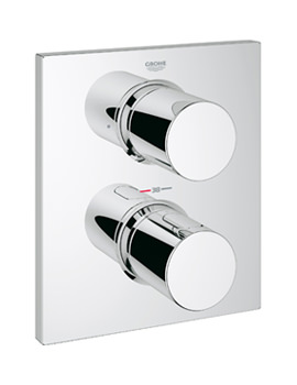 Grohe Spa Grohtherm F Thermostatic Valve Trim With 2 Way Diverter