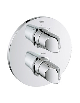 Grohe Spa Veris Chrome Thermostatic Bath Shower Mixer Valve