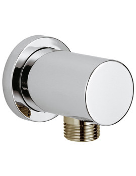 Grohe Rainshower Round Shower Outlet Elbow Chrome