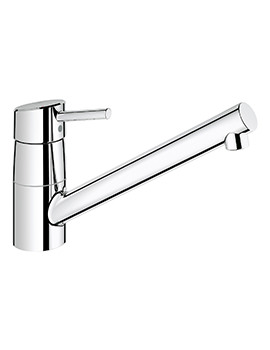 Grohe Concetto Single Lever Low Spout Sink Mixer Tap - Chrome