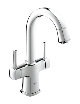 Grohe Spa Grandera Two Handle Basin Mixer Tap Chrome