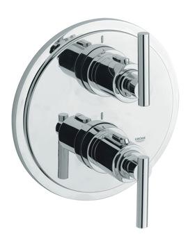 Grohe Spa Atrio Jota Thermostatic Bath Shower Mixer Valve Trim
