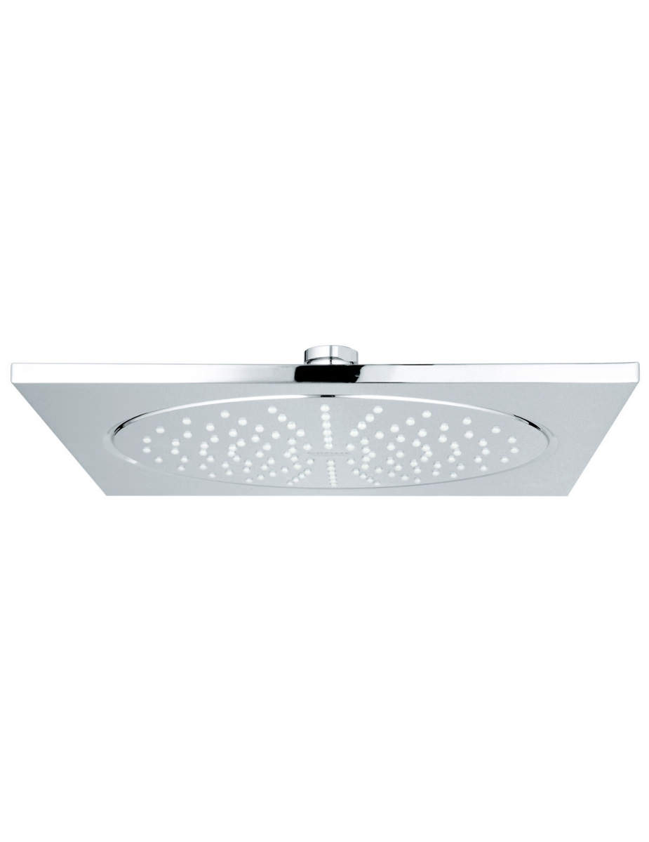 grohe rainshower f series 10 inch showerhead with flow limiter. Black Bedroom Furniture Sets. Home Design Ideas