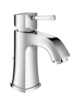Grohe Spa Grandera 1/2 Inch Basin Mixer Tap With Pop Up Waste Chrome