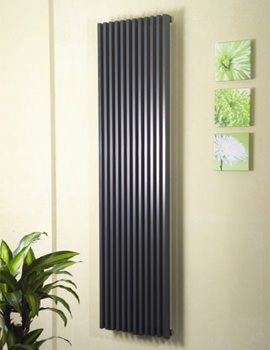 Apollo Bassano Vertical 1800mm Height White Single Radiator