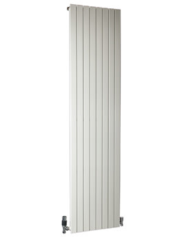 DQ Heating RT Vertical 4 Section Designer Radiator 215 x 2000mm White