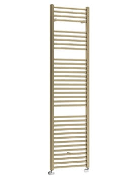 DQ Heating Nemo Platinum Finish Heated Towel Rail 500 x 1500mm