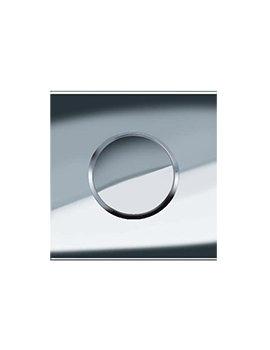 Geberit Sigma10 Pneumatic Urinal Flush Control - Chrome
