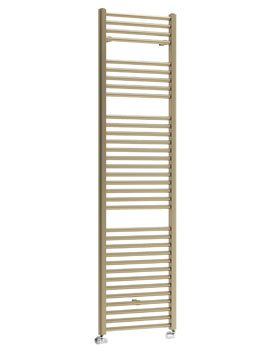 DQ Heating Nemo Platinum Finish Heated Towel Rail 500 x 1800mm