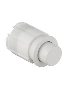 Geberit White Single Flush Palm Push Button For AP123 Cistern