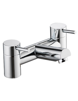 Pura Xcite Deck Mounted Chrome Finish Bath Filler Tap